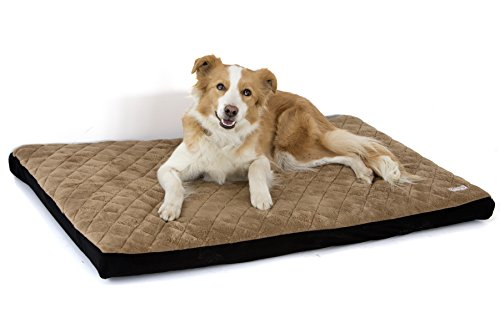 Komfy K9 FoamWaterproof PetBed | Cat & Dog Mattress with Washable Easy Removable Cover Pet Bedding for Pet Owners