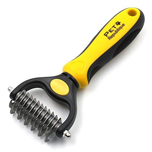 Dog rake comb by Pet Republique