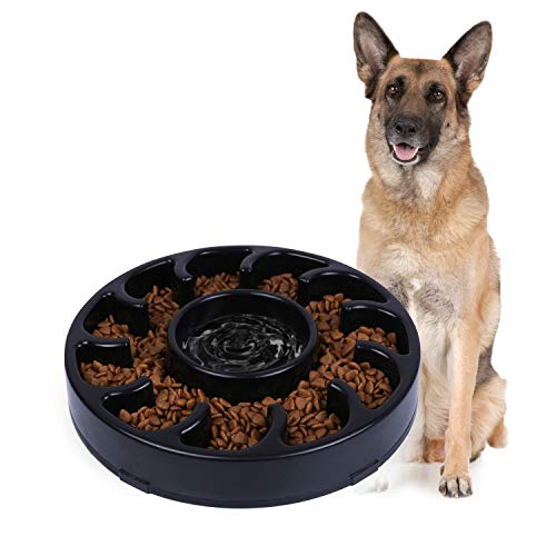 JASGOOD slow feed dog bowl