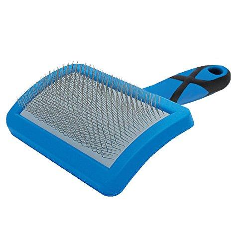 Groom professionl Soft curved slicker brush