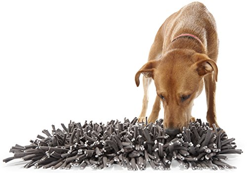 PAW5: Wooly Snuffle Mat - Feeding Mat for Dogs (12' x 18') - Encourages Natural Foraging Skills - Easy to Fill - Fun to Use Design - Durable and...