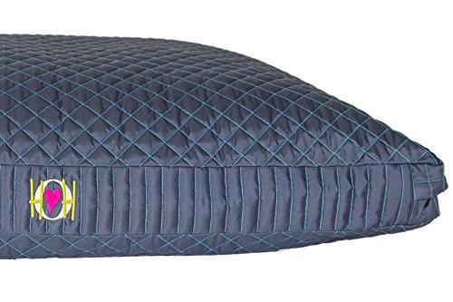 HuggleHounds Chew Resistant TuffutLuxx Bed with Waterproof Liner, X-Large, Atlantic Night