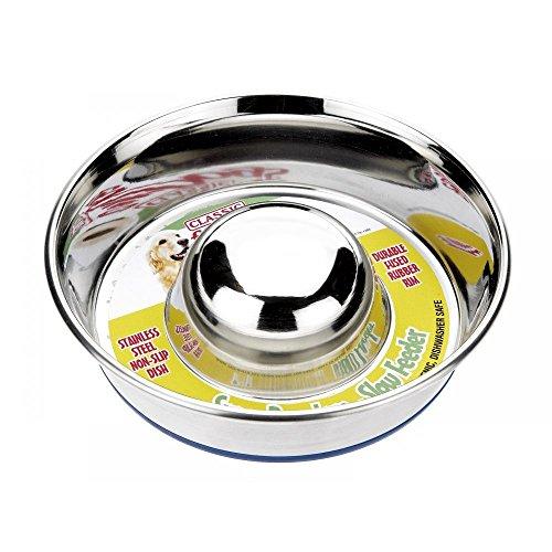 Caldex stainless steel slow feeder