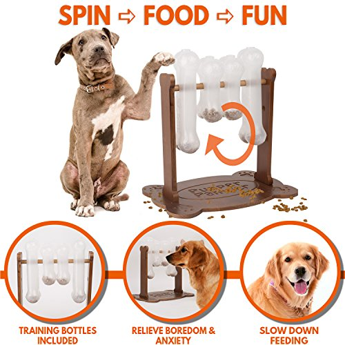 Pupper pamper interactive toy