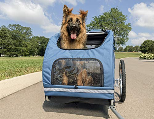 PetSafe Bicycle Trailer, Large, Aluminum